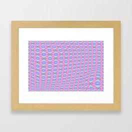 Soft light pattern for little kiddies ... Framed Art Print