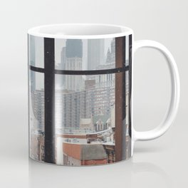 New York City Window Coffee Mug