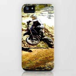 Dirt-bike Racer iPhone Case