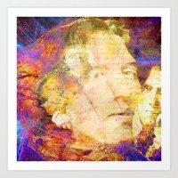 oscar wilde Art Prints featuring Oscar Wilde by Ganech joe