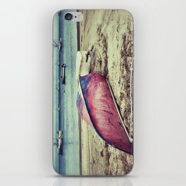 old red boat iPhone Skin