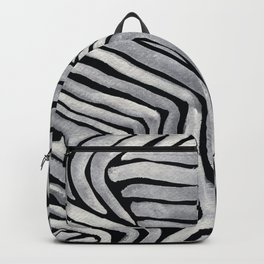 A Bunch of White Lines Backpack