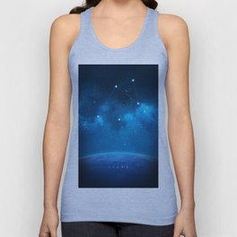 Libra: Astrological Art Unisex Tank Top
