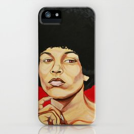"Angela Davis ""Revolutionary"" iPhone Case"