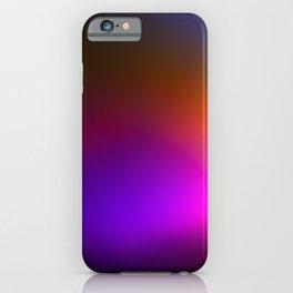 Rainbow Foil 3 iPhone Case