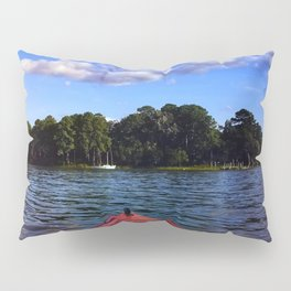Weekend on the water Pillow Sham
