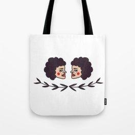 Side Eyed Tote Bag