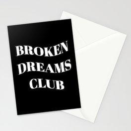 Broken Dreams Club Monochrome Stationery Cards