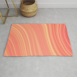Living Coral Marble Rug