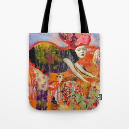 Tending the garden with love Tote Bag