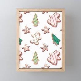 Piparkakut Framed Mini Art Print