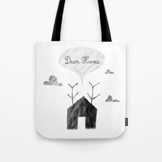 Deer Home Tote Bag
