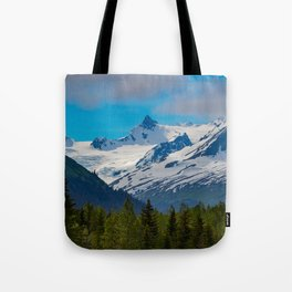 Bear_Creek Mountain Glacier - Alaska Tote Bag