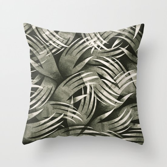In The Icy Air of Night - Silver Screen Edition Throw Pillow