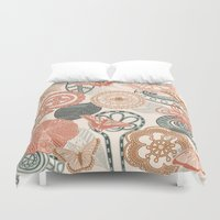 doodle Duvet Covers featuring doodle  by Ancello