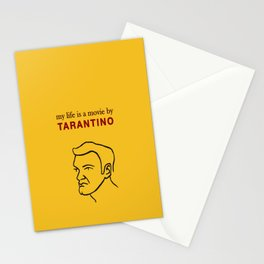 My life is a movie by Tarantino Stationery Cards