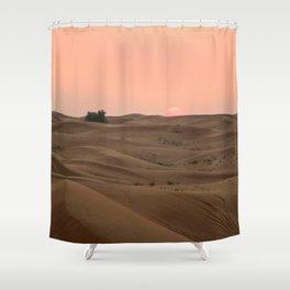 Arabian Desert Sunset Shower Curtain
