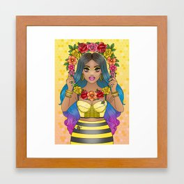 Buzz Buzz Framed Art Print