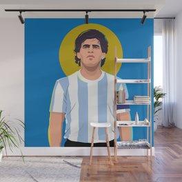 Diego Maradona is a God Wall Mural