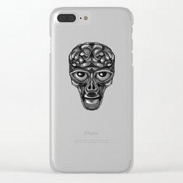 Zed Clear iPhone Case