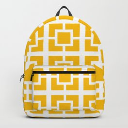 Mid Century Pattern 01A Backpack