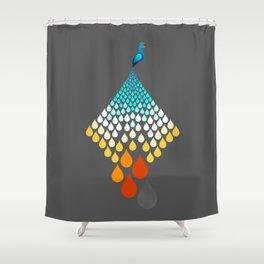 The Firebird Rains Shower Curtain