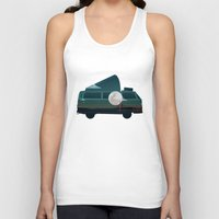 vw Tank Tops featuring VW Camper by WyattDesign