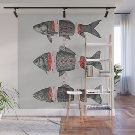 Sashimi All Wall Mural