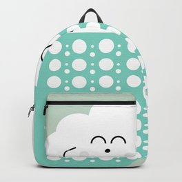sweet cloud winter design #society6 #decor #buyart #artprint Backpack