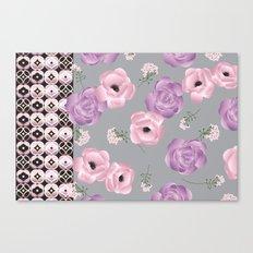 Purple & Pink Canvas Print