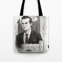 moriarty Tote Bags featuring Moriarty by RileyStark