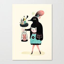 Lady Bird Canvas Print