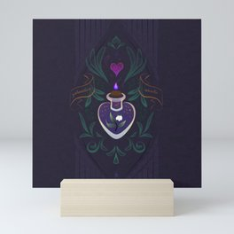 Galanthus Heart Mini Art Print