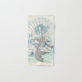 Anais Nin Mermaid [vintage inspired] Art Print Hand & Bath Towel