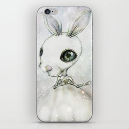 Delicate Rabbit iPhone Skin