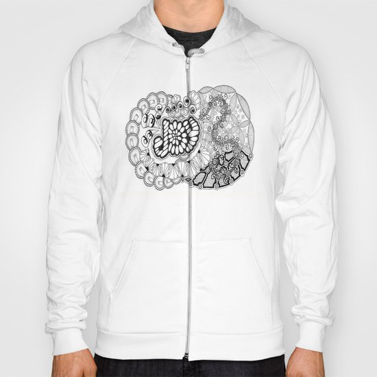 Zentangle Life with Joy! Hoody