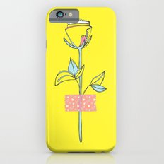 Rosewall (on yellow) Slim Case iPhone 6s