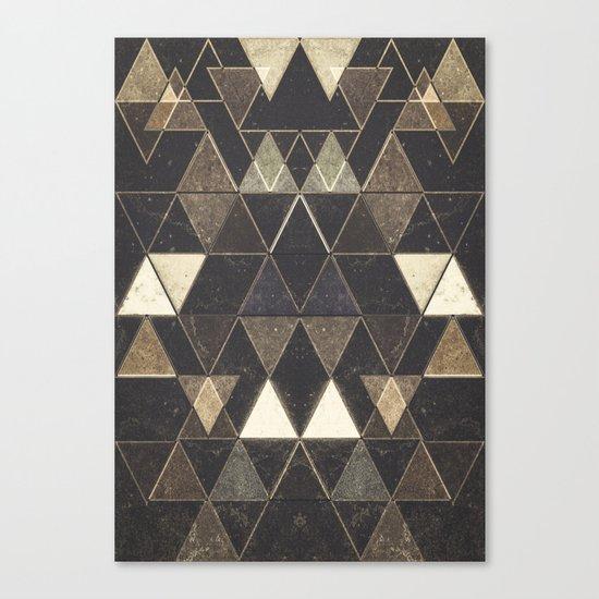 Triangles XXVII Canvas Print