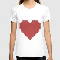 8bit T-shirts featuring 8bit Love by Matias Demti