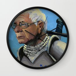 Sir Bernie Sanders Wall Clock