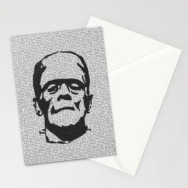 Words of Frankenstein Stationery Cards