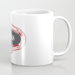 Gunks Climbing Carabiner Coffee Mug
