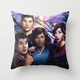 The Legend Of Korra Throw Pillow