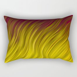 stripes wave pattern 2 with lines veei Rectangular Pillow