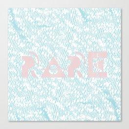 Rare Canvas Print