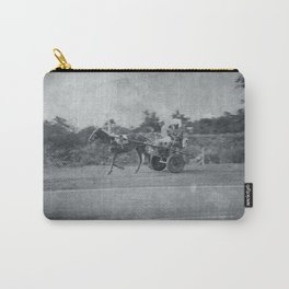 Horse and Cart in Cuba Carry-All Pouch