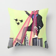 King Con Throw Pillow