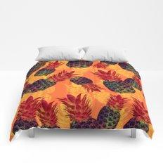Pineapple Carnival Comforters