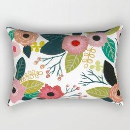 Cute Flowers Rectangular Pillow