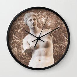Venus de Milo Wall Clock